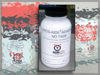 Pros-Aide® No-Tack is used just like Pros-Aide® for producing PAX paintT but has significantly reduced stickiness or tack after drying.