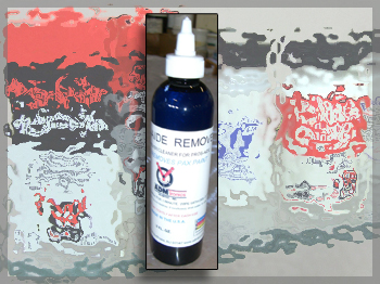 A special remover/cleaner for Pros-Aide and PAX paint. It is formulated from ingredients that allow for safe removal of Pros-Aide, PAX Paint and other makeup from the skin.